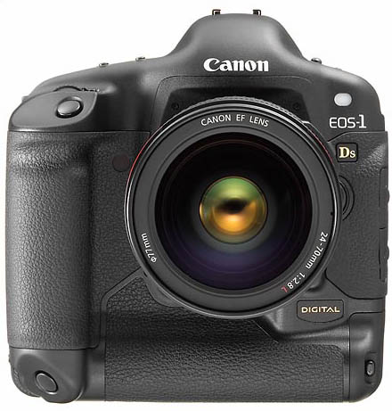 Canon EOS-1Ds w/EF 24-70mm f/2.8L USM.  Price: $9,000