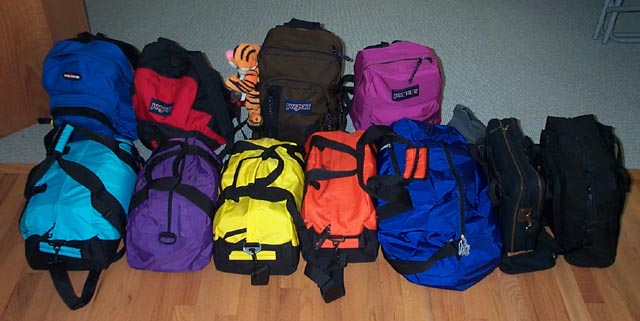 Land's End Duffel bags