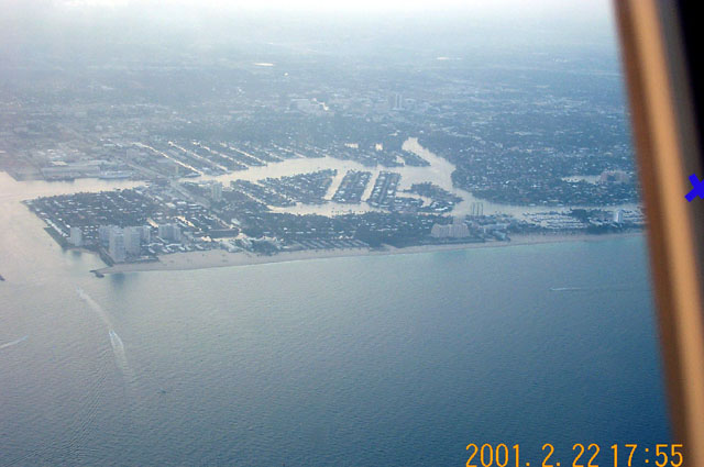 Fort Lauderdale from the air