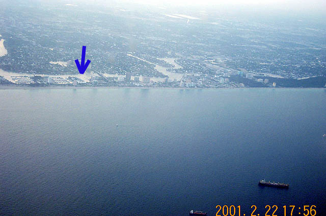 Fort Lauderdale and the Visual Sea slip
