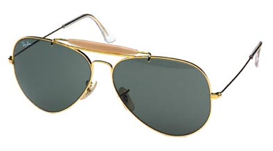 Ray Ban Outdoorsman Sunglasses.  Price: $100, but no longer made.