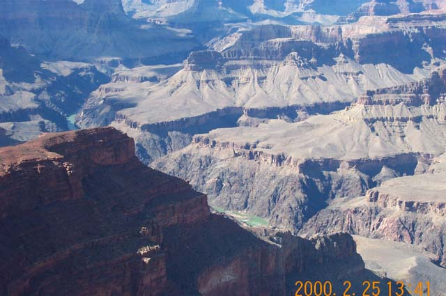 Note the Colorado River at the bottom looks very small!  Could it really have created all this?