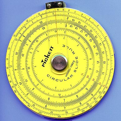 Pickett Circular Slide Rule, circa 1970